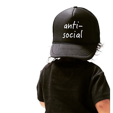 Anti-social - Snapback Trucker Hat