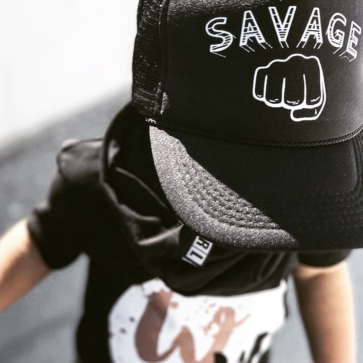 Savage - Snapback Trucker Hat