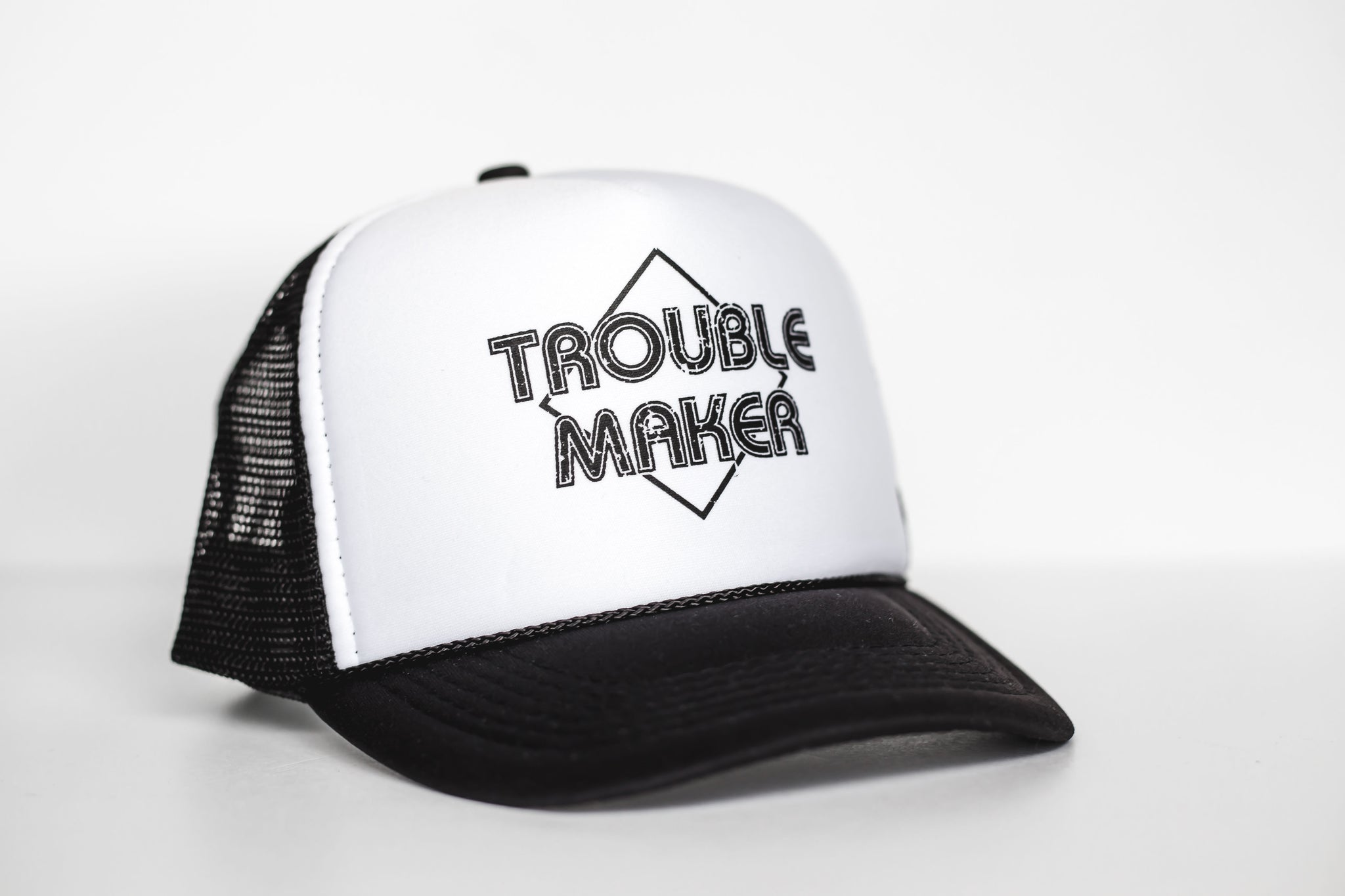 Trouble Maker - Snapback Trucker Hat
