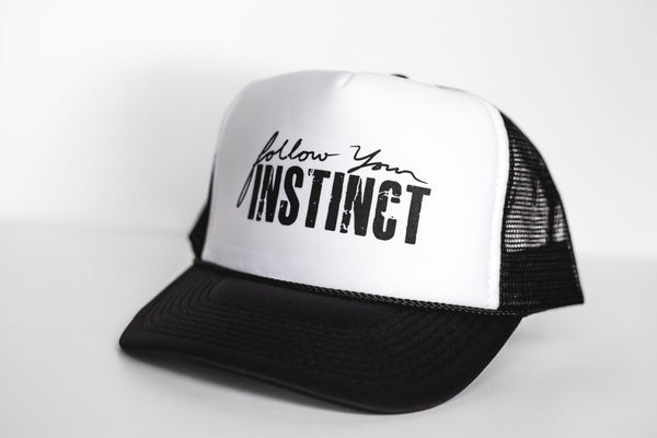 Follow Your Instinct - Snapback Trucker Hat
