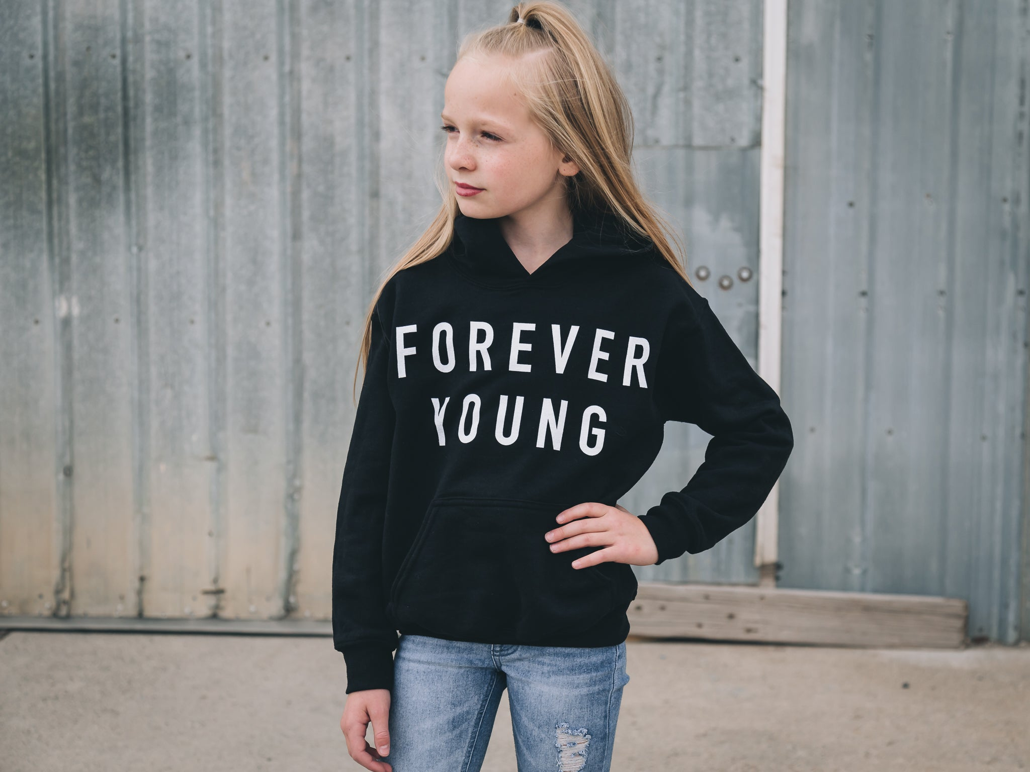 Forever Young Hoodie (Youth)