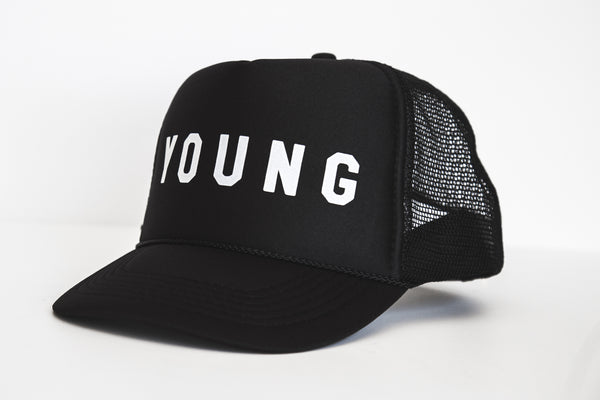 Young - Snapback Trucker Hat