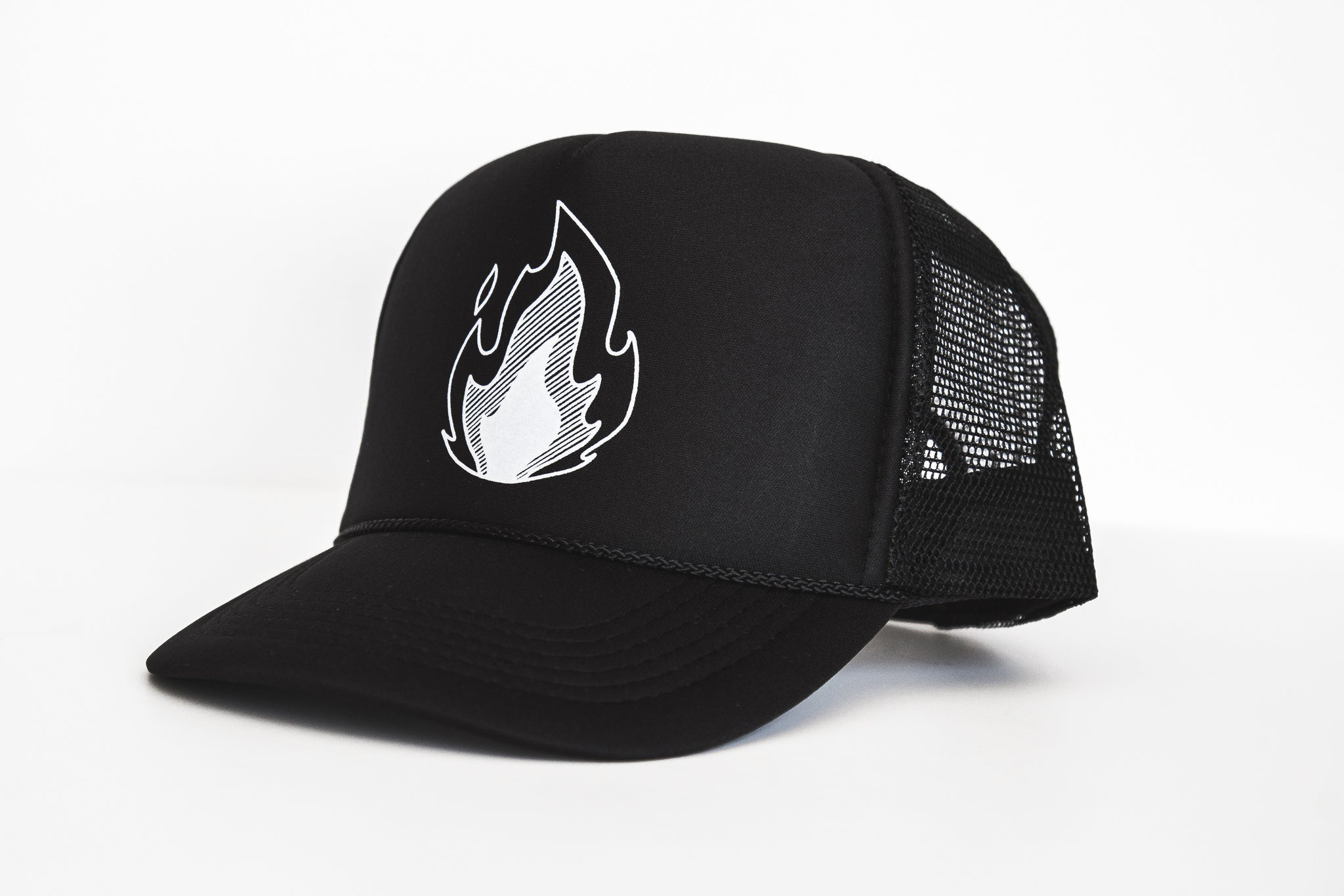 Fire - Snapback Trucker Hat