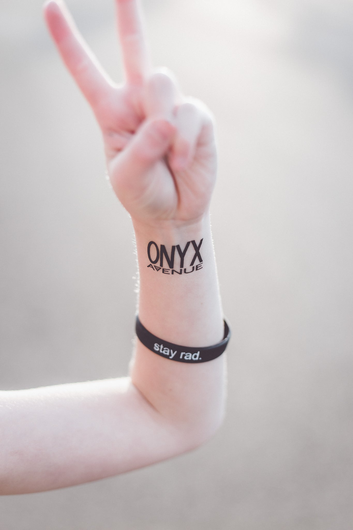Onyx Avenue Temporary Tattoos