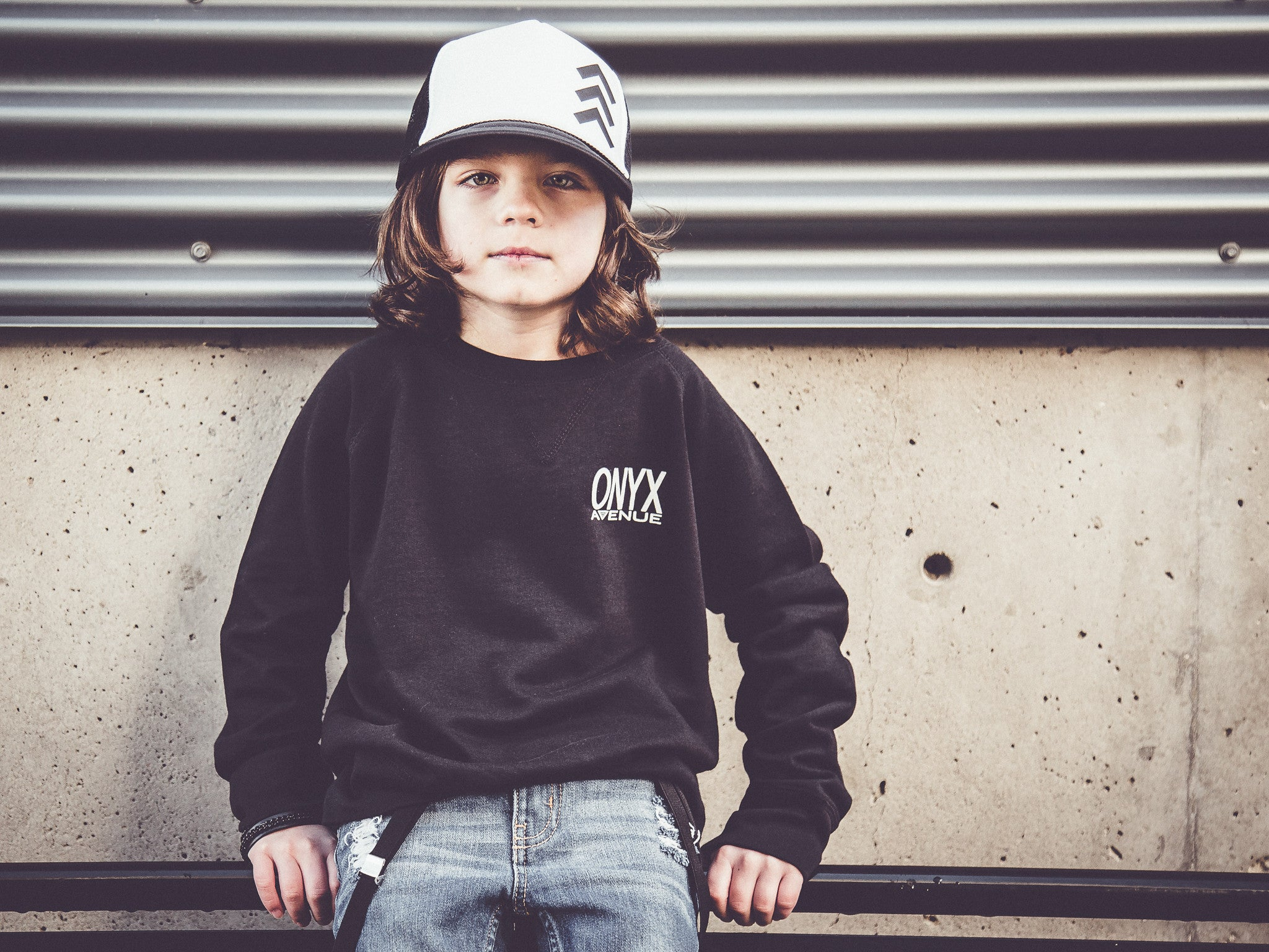 Onyx Avenue Raglan (Youth)