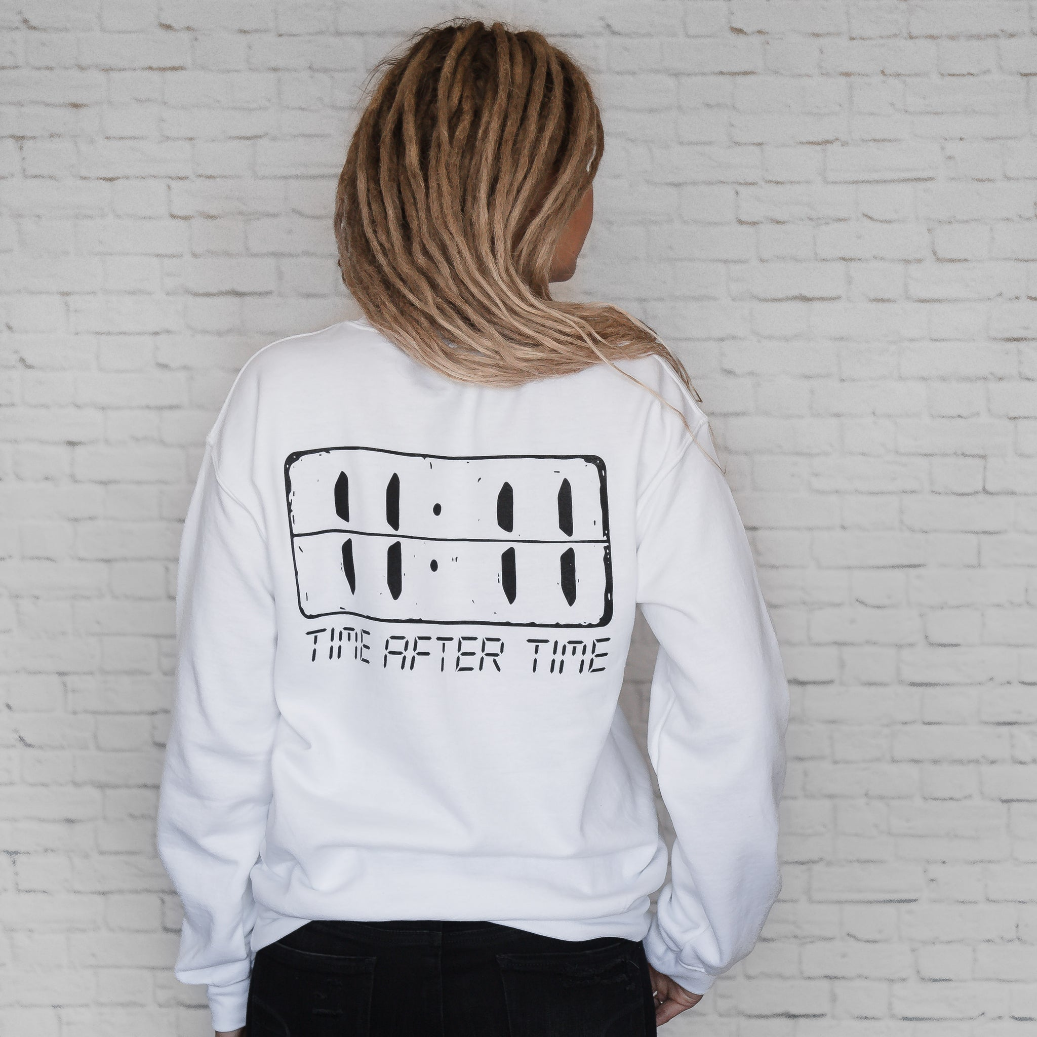 Time After Time Sweatshirt (Unisex)