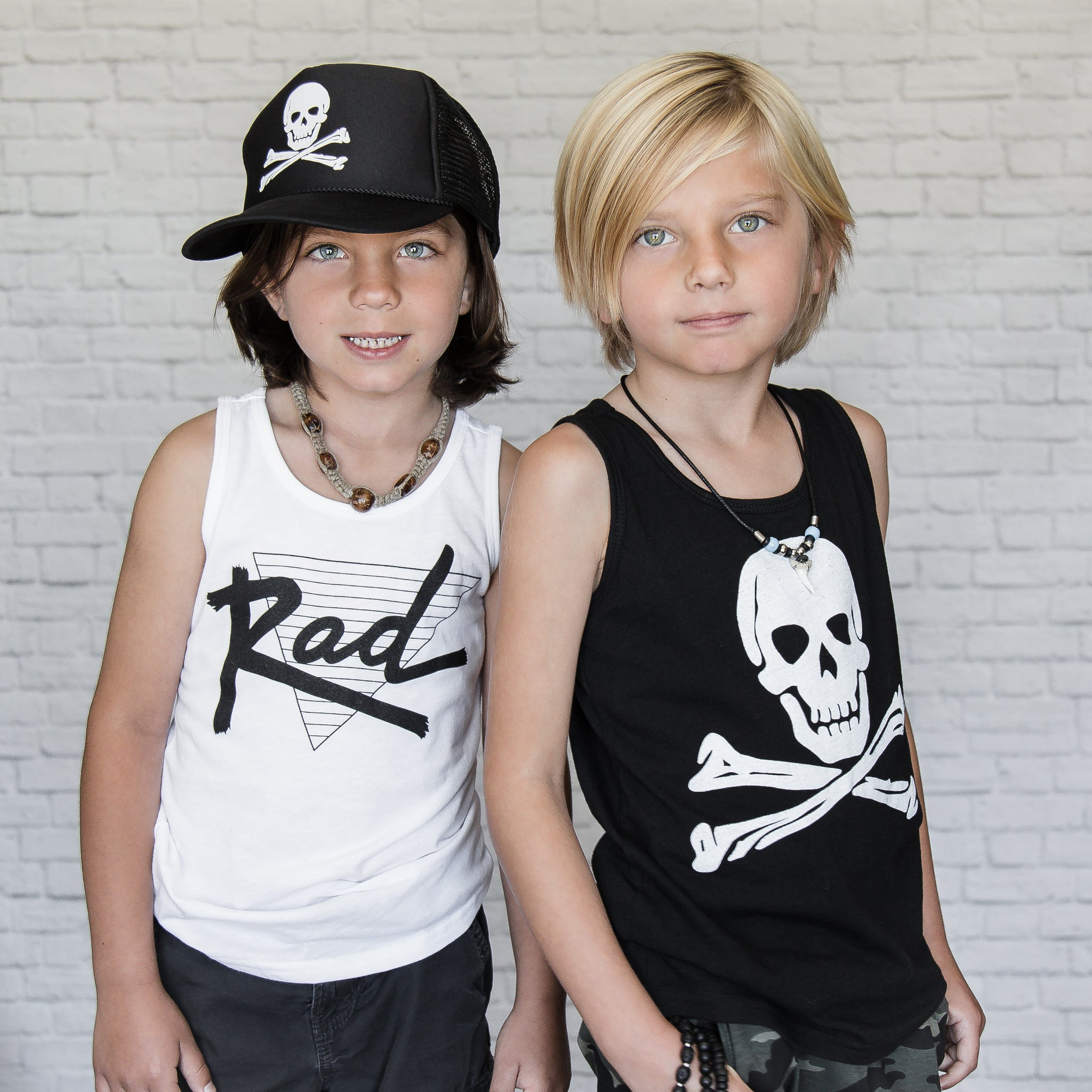 Rad White Tank (Youth)