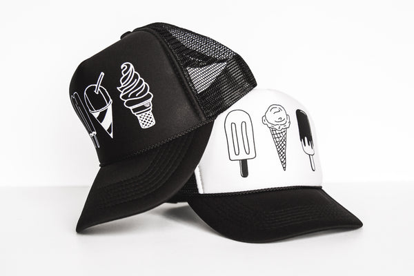Ice Cream Truckers - Snapback Set