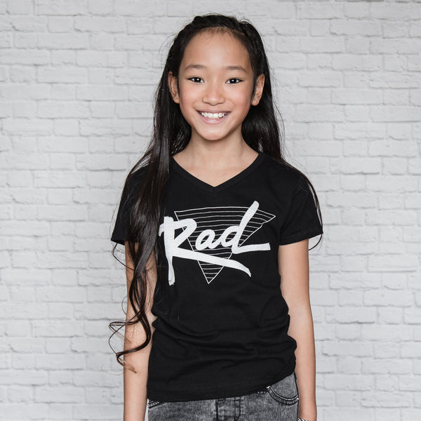 Rad (Girls v-neck)