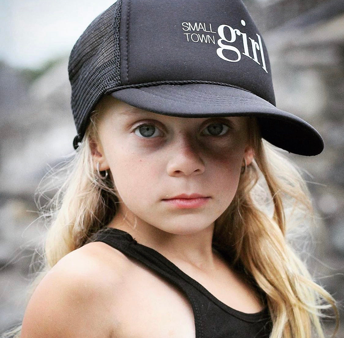 Small Town Girl - Snapback Trucker Hat