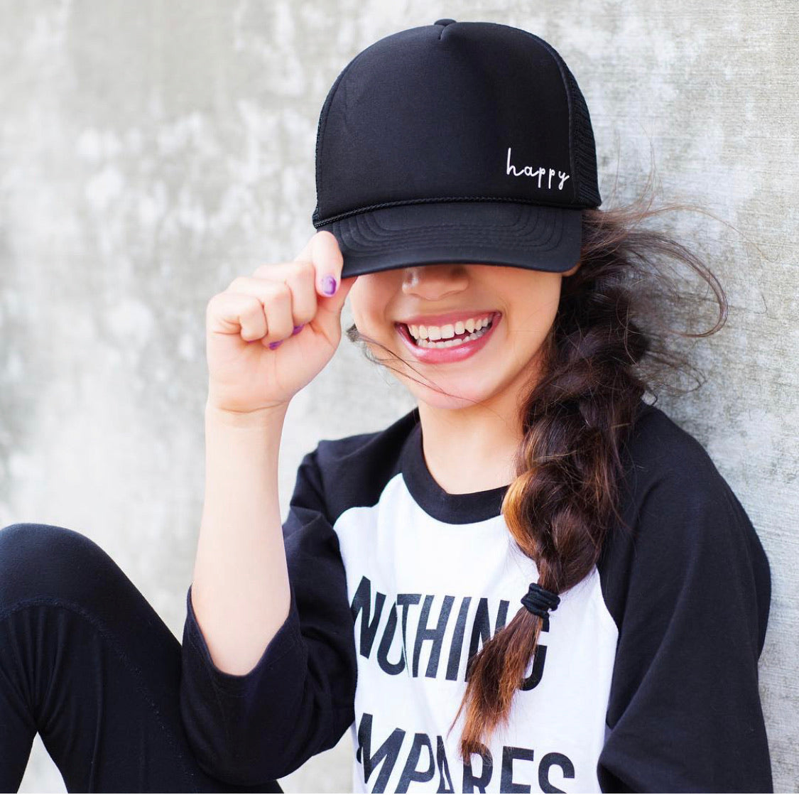 Happy - Snapback Trucker Hat