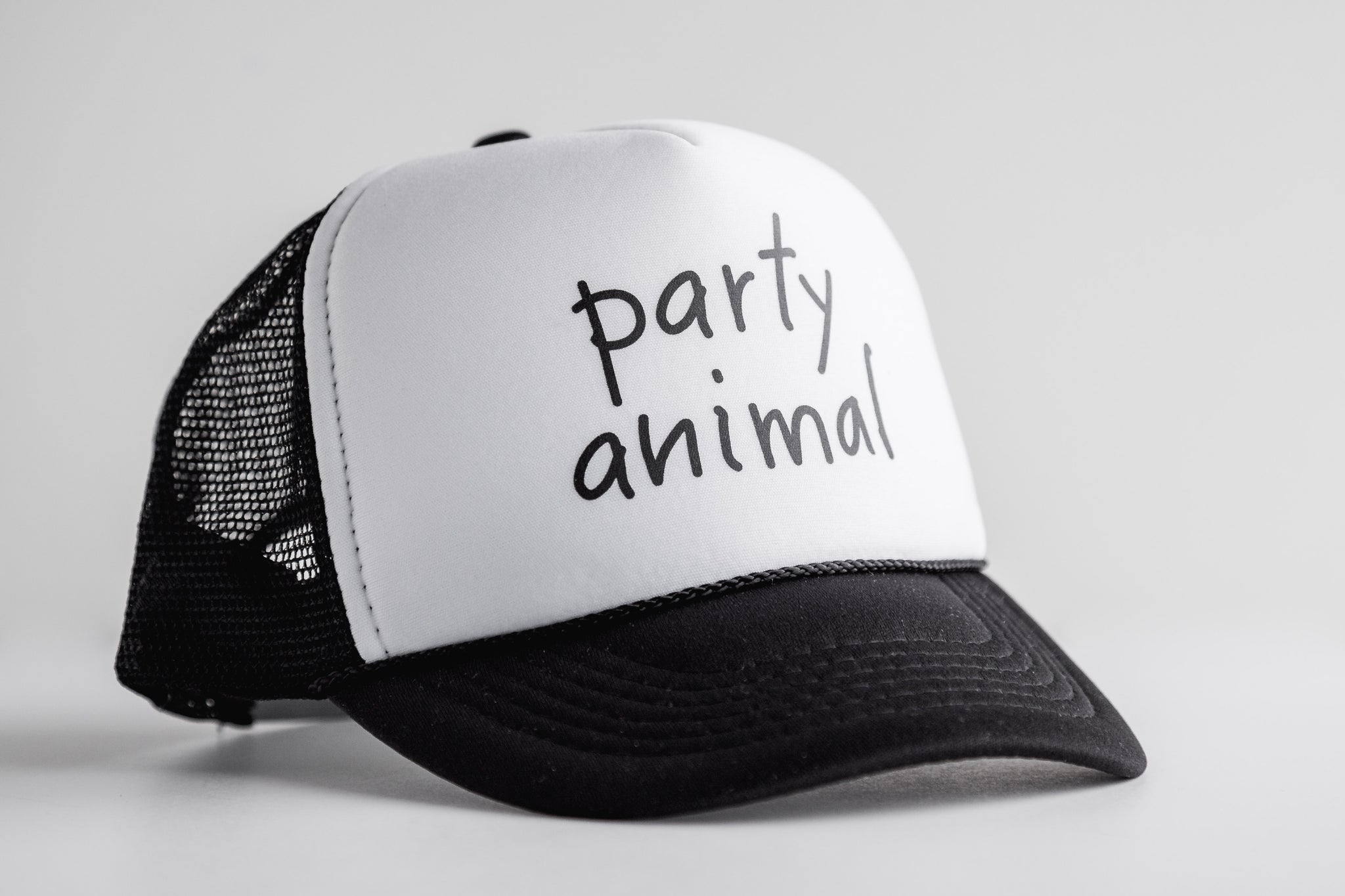 Party Animal - Snapback Trucker Hat – Onyx Avenue Apparel 52a699c4d8e