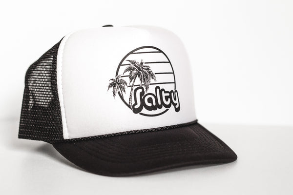 Salty - Snapback Trucker Hat