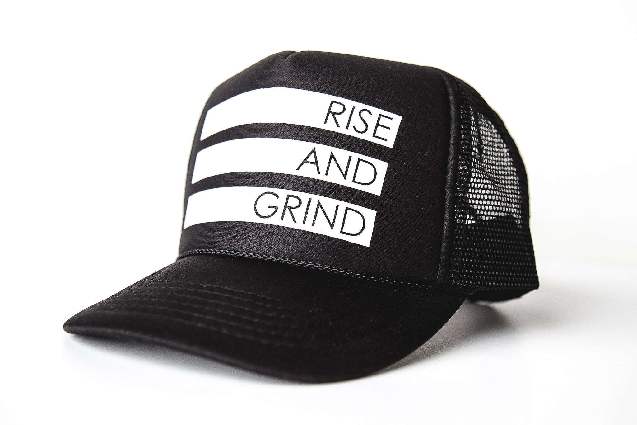 Rise and Grind -Snapback Trucker Hat
