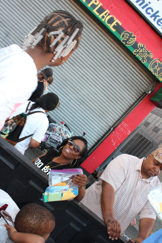 skid row toiletry drive kenya kirkland gives back