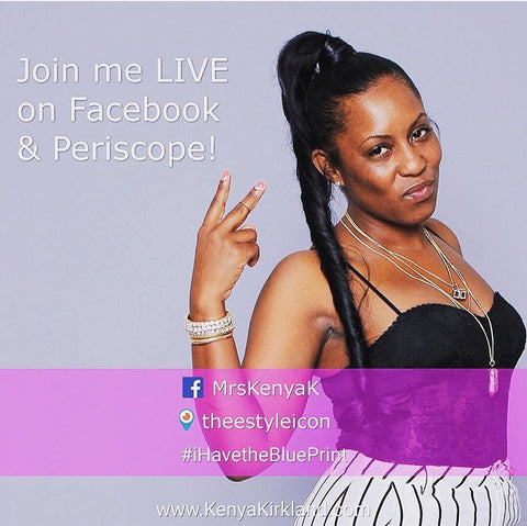 Kenya K. Show Live on Facebook