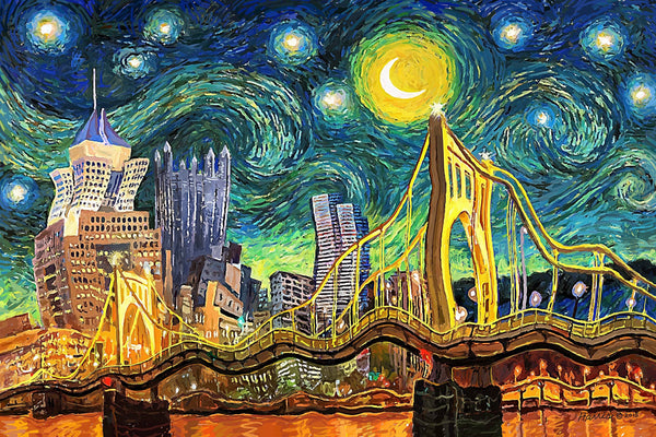 Starry Night in Pittsburgh