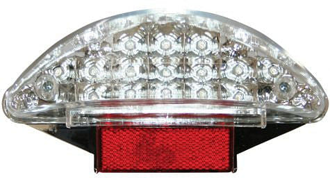 Hornig Clear Tail Light Lens w/LED lighting