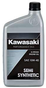 KAWASAKI OIL 10W40 SEMI-SYNTHETIC M/C QUART