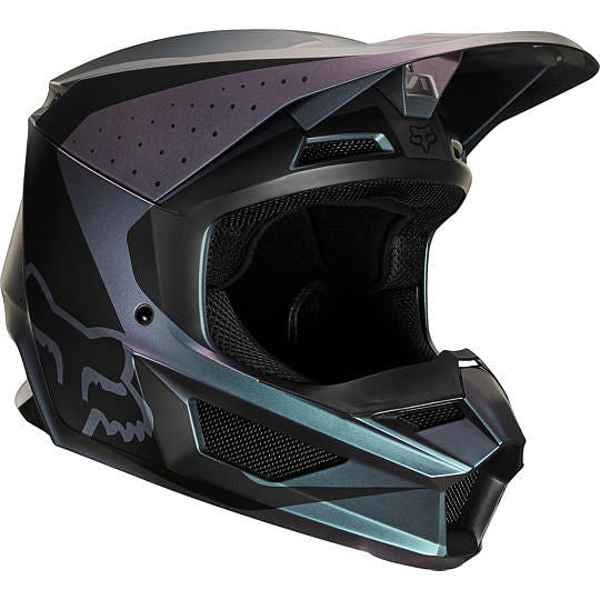 Fox Racing V1 WELD SE HELMET BLACK IRI
