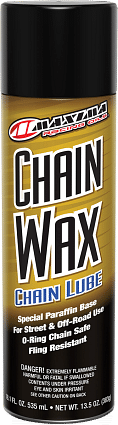 LUBE CHAIN WAX 13.5OZ