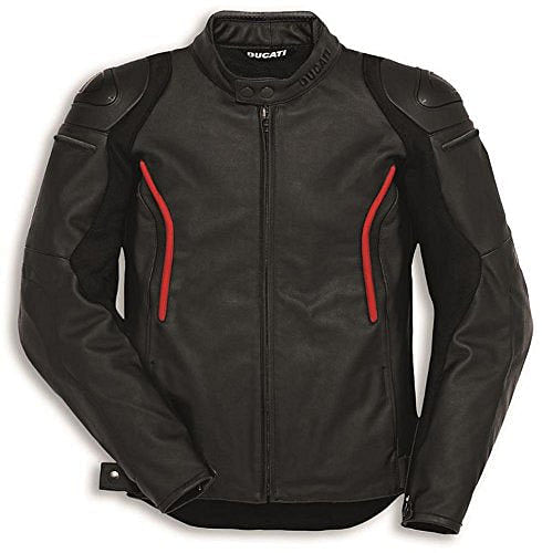 Ducati Stealth C2 Perforated Leather Jacket Size 54Euro Closeout!