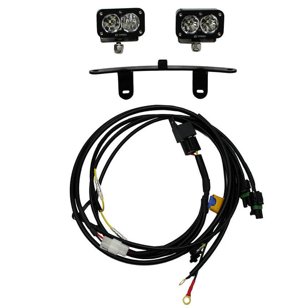 Baja Designs S2 Pro LED Light Kit, Windscreen Mount (CRF1000L Africa Twin)