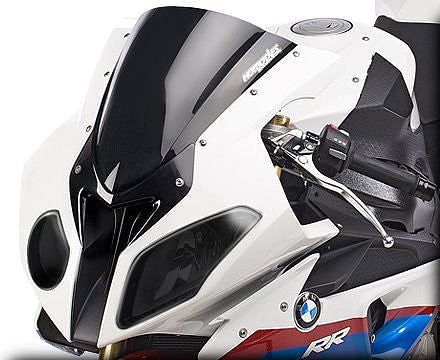 Hot Bodies Racing Headlight Cover - Smoke (S1000RR)