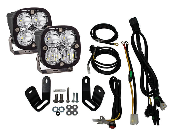 Baja Designs Squadron Pro LED Adventure Bike Kit (BMW F800GS 2013-2017)