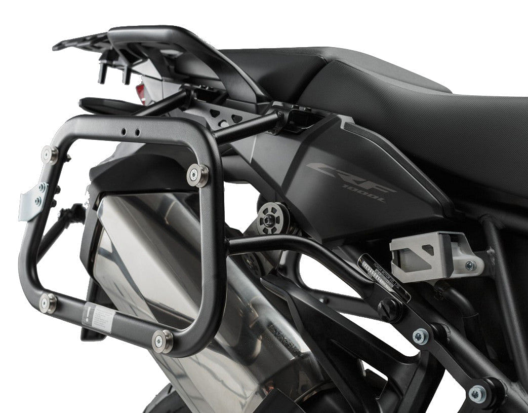 sw motech quick lock evo side carriers crf1000l africa twin. Black Bedroom Furniture Sets. Home Design Ideas