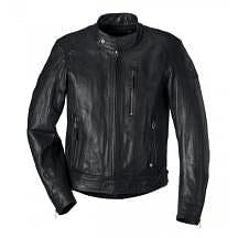 BMW Leather Motorcycle Riding Jacket 'Black Leather' -CLOSEOUT!