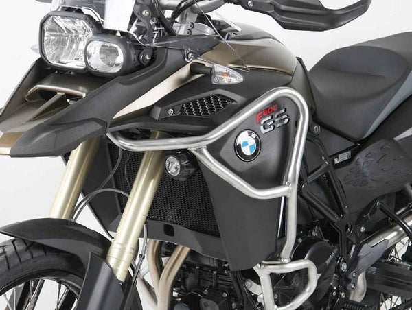 Hepco & Becker Tank Guard For in Stainless Steel (BMW F800GS Adventure)