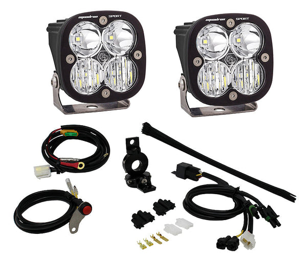 Baja Designs Squadron Sport LED Adventure Bike Light Kit (Universal 7/8