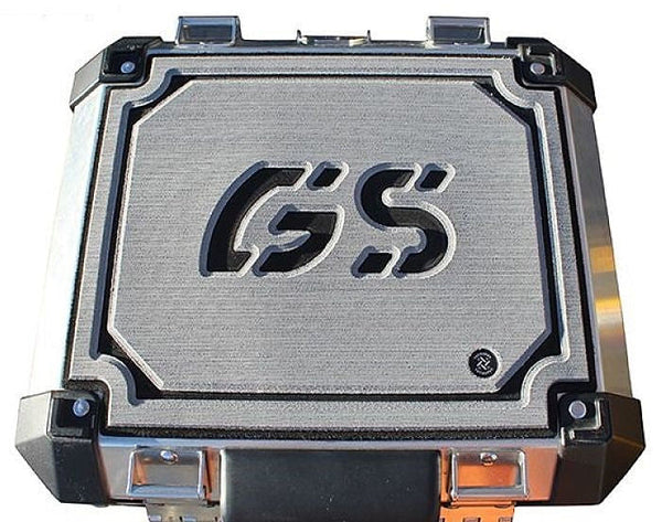 TechSpec Pannier Cover For 32L Tail Case Lid On BMW R1200GS, R1250GS with OEM Luggage