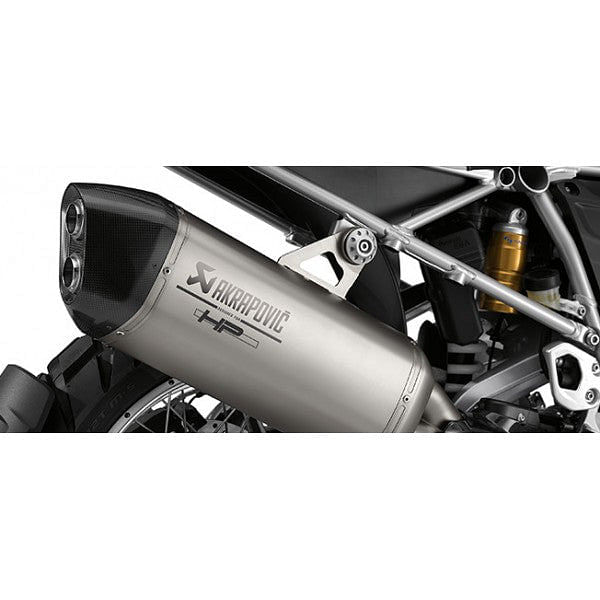 BMW HP Sports SIlencer by Akrapovič (R1200GS-LC '13- & R1200GS-LC Adventure '14-)