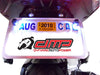 DMP LICENSE PLATE LIGHT KIT BLACK W/WHITE LED
