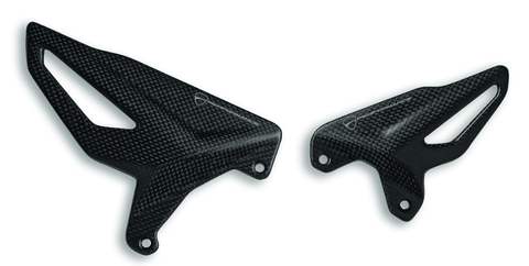 CARBON HEEL GUARD SET 1409