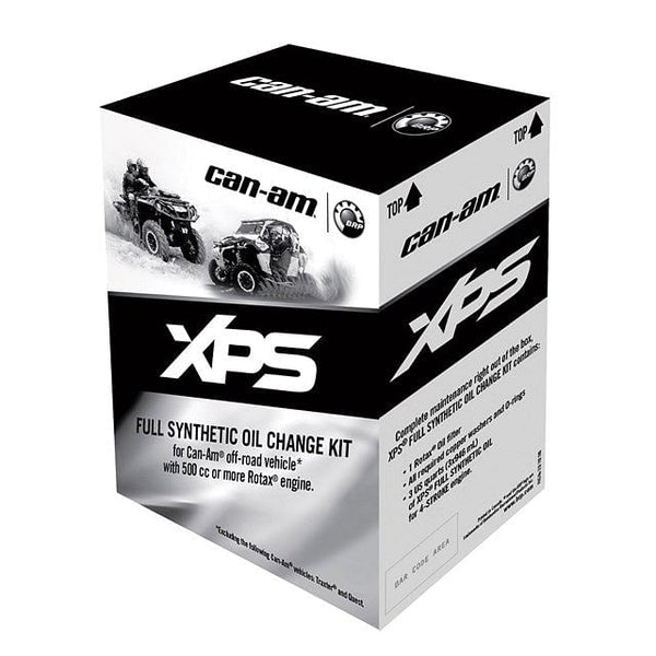 Can Am OFF ROAD MAINTENANCE AND OIL CHANGE KIT SYNTHETIC (0W40) 450CC AND LESS