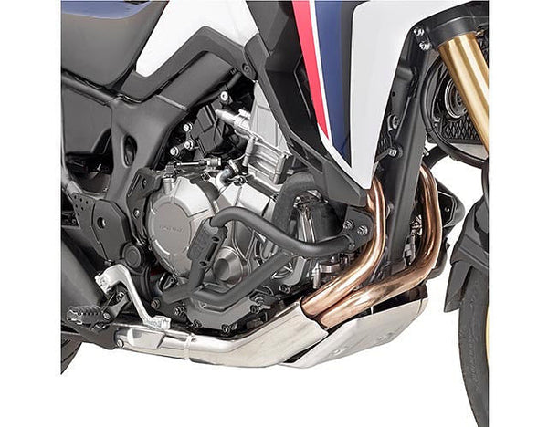 GIVI Lower Crash Bars Engine Guards (Honda Africa Twin CRF1000L '16), Black