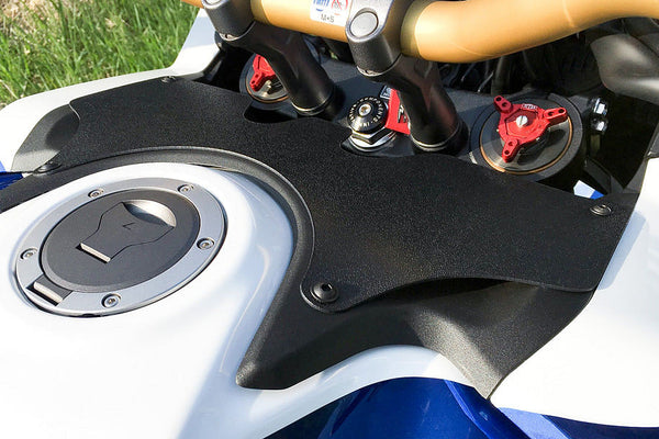 Swegotech Forkshield - The Updraft Deflector (CRF1000L2  Africa Twin Adventure Sports)