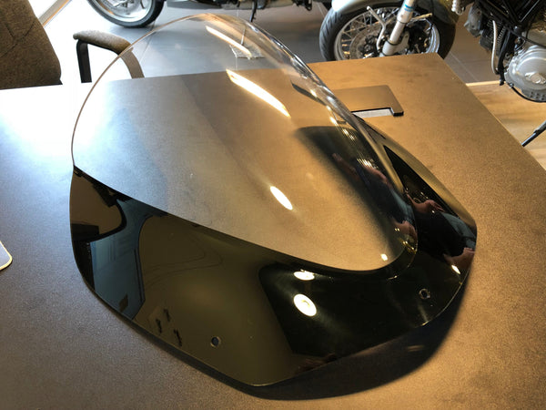 Double Bubble Screen - Clear with black border (BMW F800 S & ST)