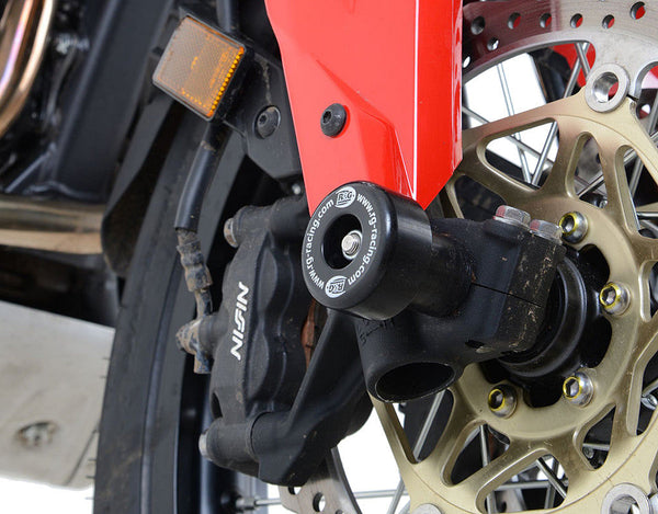 R&G Front Axle Sliders Fork Protectors (Honda Africa Twin CRF1000L '16)