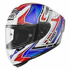 SHOEI X-14 ASSAIL FULL FACE MOTORCYCLE HELMET TC-2 XLG