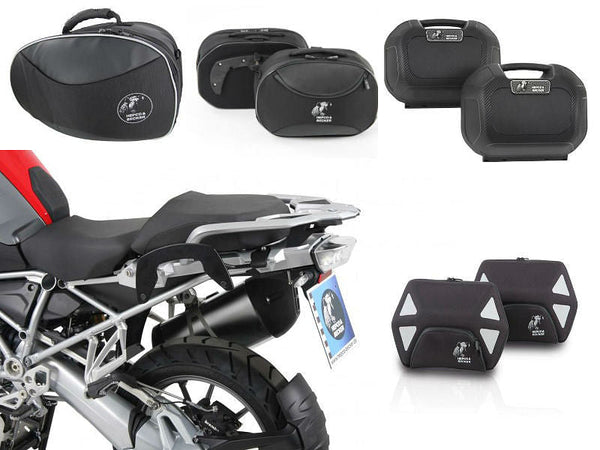 Hepco & Becker C-Bow Side Case Luggage Kit (R1200GS LC 2013-)