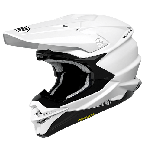 SHOEI VFX-EVO FULL FACE OFFROAD MOTORCYCLE HELMET WHITE