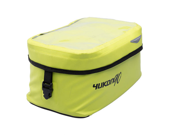 SW-MOTECH EVO Yukon 90 Waterproof QUICK-LOCK Tank Bag, 9L Capacity, Yellow