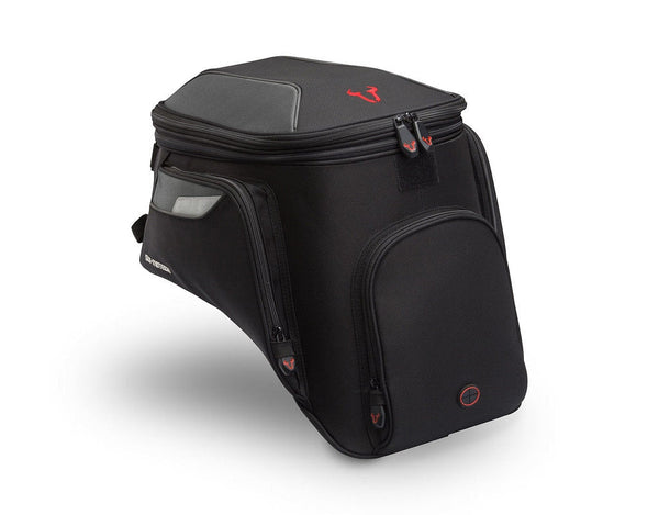 SW-MOTECH EVO GS Quick-Lock Tank Bag, 16-22L (Fits Steep/Sloped Tanks)