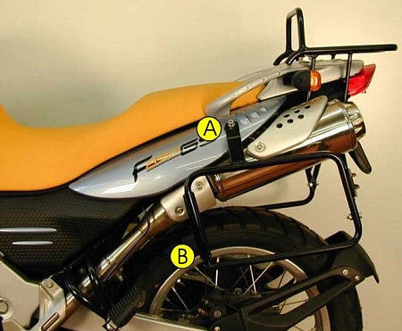 Side Carrier - BMW F650 GS / Dakar / G650 GS from 04'