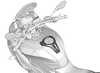 BMW HP Carbon Fuel Filler-Cap Cover (BMW S1000XR)