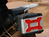 Twalcom - Red Side Reflectors for Original Bags (R1200GS)
